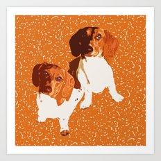 Nothing Rhymes with Orange Art Print