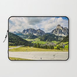 on the roads of dolomites Laptop Sleeve