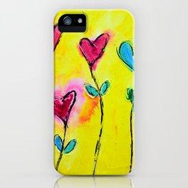 Amor de colores iPhone Case
