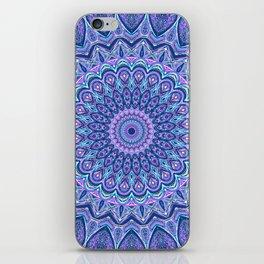 Purple Passion - Mandala Art iPhone Skin