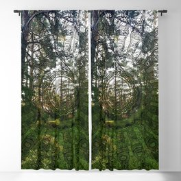 Spell of the forest fairies Blackout Curtain