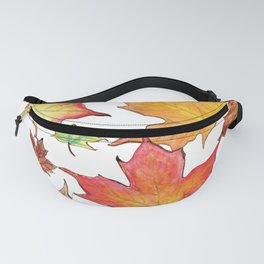 Autumn Maple Leaves Fanny Pack