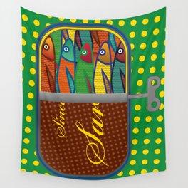 Pop art: Sardines Wall Tapestry
