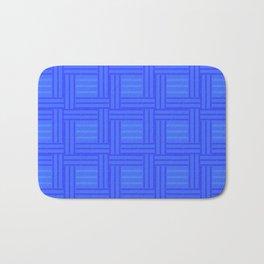 Elour Blue Tile Bath Mat