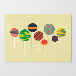 Sweet lollipop Canvas Print