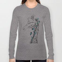 Poetic Giraffe Long Sleeve T-shirt