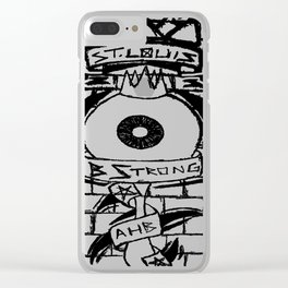 B Strong Clear iPhone Case