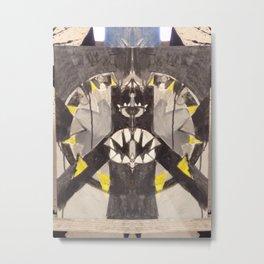 Toothy Grin Metal Print