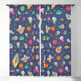 Space animals Blackout Curtain