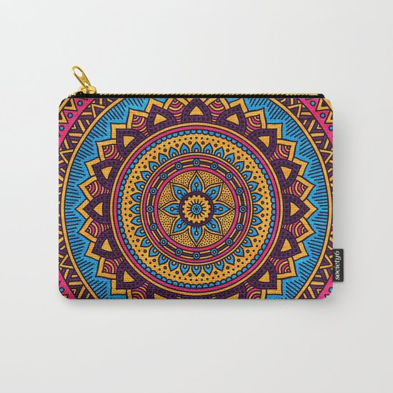 Hippie Mandala 19 Carry-All Pouch