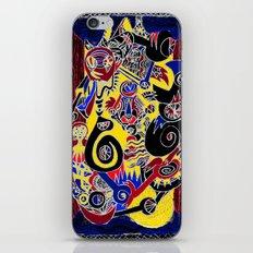 magic box iPhone & iPod Skin