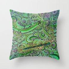 Oboe Throw Pillow