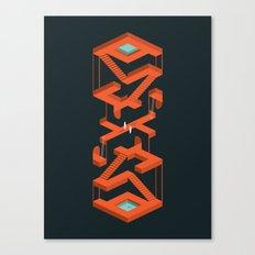Monument Maze Canvas Print