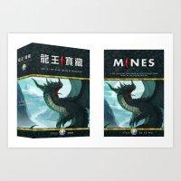 Mines of the Sacred Dragon Art Print