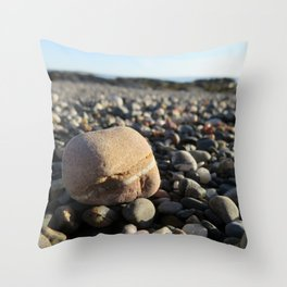Striated Rock Throw Pillow