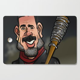 Negan and Lucille Cutting Board
