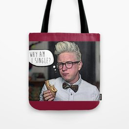 Tyler Oakley, Why Am I Single? Tote Bag
