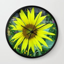 Stunning Sunflower Wall Clock