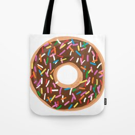 Chocolate Donut Tote Bag