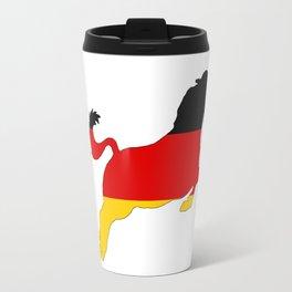 German Flag - Horse Travel Mug