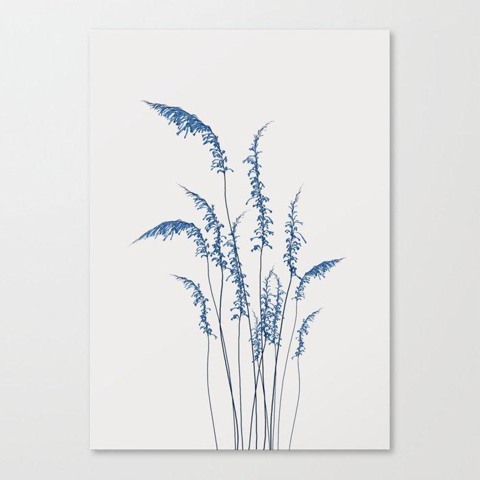 Blue flowers 2 Leinwanddruck