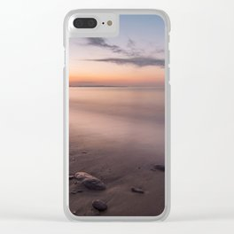 Long exposure dusk Clear iPhone Case