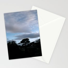 beautiful clouds Stationery Cards