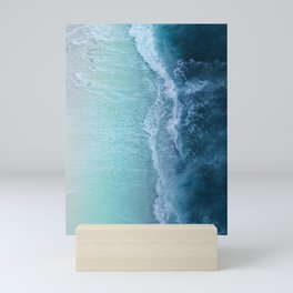 Turquoise Sea Mini Art Print