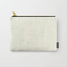 Large Vertical Pastel Lemon Yellow Princess Elizabeth Regal Stripe Carry-All Pouch