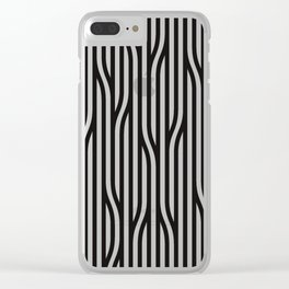Modern Lines Clear iPhone Case
