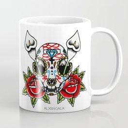Cat Sugar Skull Coffee Mug