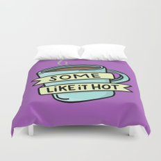 Hot Coffee Duvet Cover