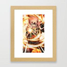 Bakugo Framed Art Print