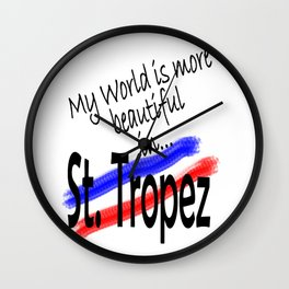 St.Tropez Wall Clock