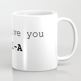I can give you Ctrl A Coffee Mug