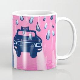Rainy day taxi Coffee Mug