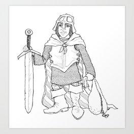 The Littlest Adventurer Art Print