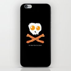 Bacon and Eggs (Skull and Bones) iPhone & iPod Skin