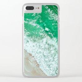 Emerald Sea Clear iPhone Case