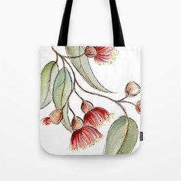 Flowering Australian Gum Tote Bag