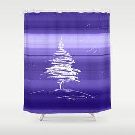 IN.MO - XMAS - SKY Shower Curtain