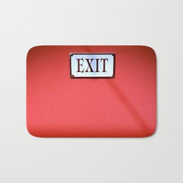 The Next Exit Bath Mat