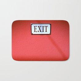 The Next Exit Bath Mat