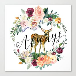 Always - Fawn Canvas Print