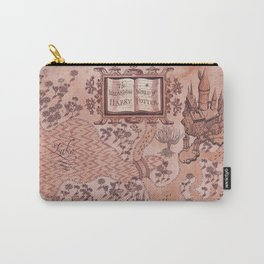 wizarding world of harrypotter map Carry-All Pouch