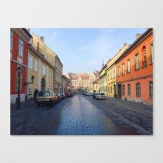 Budapest Street Canvas Print