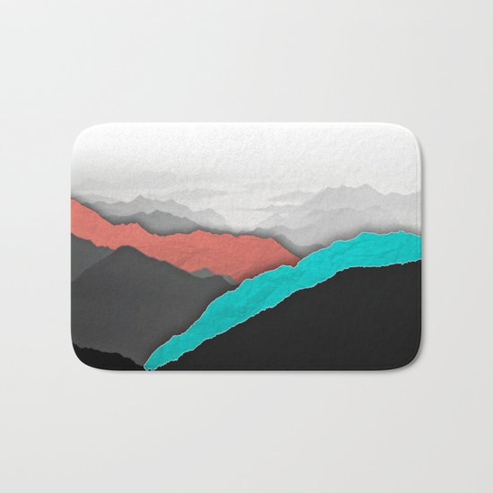 Mountain Highlights Bath Mat