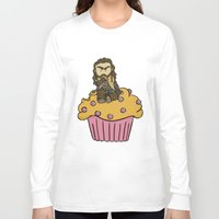 thorin Long Sleeve T-shirts featuring Thorin & the Muffin by The Psychowl