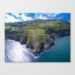 Greystones to Bray Trail Canvas Print