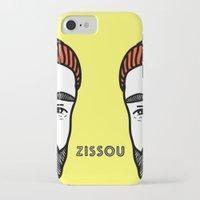 zissou iPhone & iPod Cases featuring Zissou #2 by Daniel Feldt